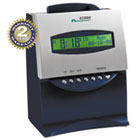 ES1000 Totalizing Digital Automatic Payroll Recorder/Time Clock, Blue and Silver ACP010215000