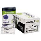 Multipurpose Paper, 98 Brightness, 20lb, 8-1/2 x 11, Bright White, 5000 Shts/Ctn UNV95200