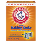 Arm & Hammer Commercial Baking Soda Cleaner Deodorizer, 16 oz Box, 24 /cs CDC3320084104