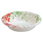 Modern Romance Heavyweight Bowls, 12oz, White/Red/Green, 175/Carton DXE827247