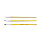 Watercolor Brush Set, Size 1, Camel Hair Blend, Round, 3/Pack CYO051127001