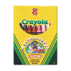 Multicultural Crayons, 8 Skin Tone Colors/Box CYO52008W