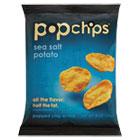 Potato Chips, Sea Salt Flavor, .8 oz Bag, 72/Carton PPH71100V