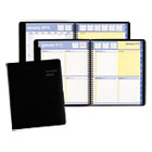 AAG760105 - QuickNotes Weekly/Monthly Appointment Book, 8 x 9 7/8, Black, 2015
