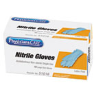 Ambidextrous Non-Sterile Single Use Nitrile Medical Gloves, Large, 10/Box ACM51016