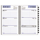 AAGG23553 - Weekly Appointment Book Refill with Telephone/Address Section, 3 3/4 x 6