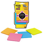 Full Adhesive Notes, 3 x 3, Assorted Rio de Janeiro Colors, 4/Pack MMMF3304SSAU