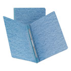 Side Opening PressGuard Report Cover, Prong Fastener, Letter, Blue SMD81052