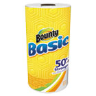 Basic Paper Towels, 10.19 x 10.98, 1-Ply, 44/Roll, 30 Roll/Carton PGC92976CT