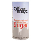 Reclosable Canister of Sugar, 20 oz OFX00019
