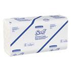 SCOTTFOLD Paper Towels, 7 4/5 x 12 2/5, White, 175 Towels/Pack, 25 Packs/Carton KCC01960