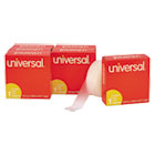 "UNV83410 - Invisible Tape, 3/4"" x 1000"", 1"" Core, Clear, 6/Pack"