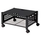 Underdesk Machine Stand, One-Shelf, 21 1/2w x 17 7/8d x 11 1/2h, Black VRTVF52009