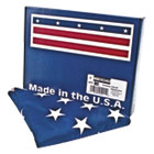 All-Weather Outdoor U.S. Flag, Heavyweight Nylon, 3 ft x 5 ft AVTMBE002460
