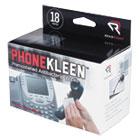 PhoneKleen Wet Wipes, Cloth, 5 x 5, 18/Box REARR1203