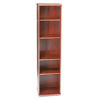Series C Five-Shelf Bookcase, 17-7/8w x 15-3/8d x 72-7/8h, Natural Cherry BSHWC72412