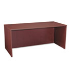 BL Laminate Series Rectangular Desk Shell, 66w x 30w x 29h, Mahogany BSXBL2102NN