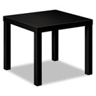 Laminate Occasional Table, 24w x 24d x 20h, Black BSXBLH3170P