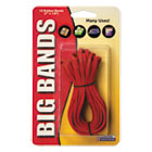 Big Bands Rubber Bands, 7 x 1/8, Red, 12/Pack ALL00700
