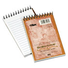 Second Nature Subject Wirebound Notebook, Narrow, 3 x 5, White, 50 Sheets TOP74135