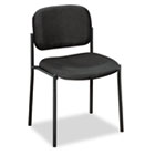 VL606 Stacking Armless Guest Chair, Black BSXVL606VA10