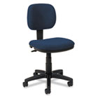 VL610 Series Swivel Task Chair, Navy Fabric/Black Frame BSXVL610VA90
