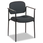 VL616 Stacking Guest Chair with Arms, Black BSXVL616VA10
