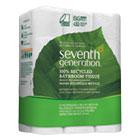 Seventh Generation 100% Recycled Toilet Paper, 2 Ply, 4x3.7 in, 500 sht/rl, 24 rl/pk SEV13738