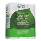 100% Recycled Bathroom Tissue, 2-Ply, White, 300 Sheets/Roll, 24/Pack SEV13738
