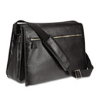 Carry items in leather briefcase