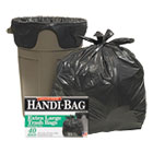 Super Value Pack Trash Bags, 33gal, .65mil, 32.5 x 40, Black, 40/Box WBIHAB6FTL40