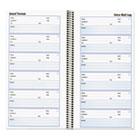 Voice Mail Wirebound Log Books, 5 5/8 x 10 5/8, 600 Sets/Book RED51113