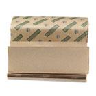 Boardwalk Green Multifold Towels, Natural, 9 1/8x9 1/2, 250 Pack, 16 Pks/Carton BWK13GREEN