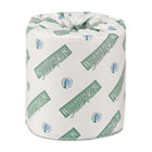 Boardwalk Green Plus Bathroom Tissue, 2-Ply, White, 500 Sheets, 80 Rolls/Carton BWK24GREEN