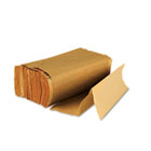 100% Recycled Multifold Paper Towels, 1 Ply, 9x9.5 in, Brown, 250/pk, 4000 towels/ct BWK6202