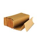Multifold Paper Towels, Brown, 9 x 9 9/20, 250/Pack, 16 Packs/Carton BWK6202