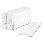 Boardwalk C-Fold Paper Towels, 1 Ply, 10 x 12.3 in,  Bleached White, 200 /pk, 2400 towels/ct BWK6220