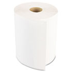 Boardwalk Industrial Roll Paper Towels, 1 Ply, 8 in x 350 ft, White, 350 ft/rl, 12 rl/ct BWK6250