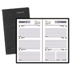 "Recycled Weekly Planner, Black, 3 1/2"" x 6 3/16"", 2013 AAGSK4800"