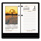"Recycled Photographic Desk Calendar Refill, 3 1/2"" x 6"", 2013 AAGE41750"