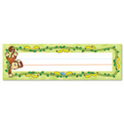 "Desk Nameplates, Monkeys, 9 1/2"" x 3"", 36/Set CDP122012"