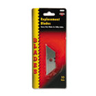 Heavy-Duty Utility Knife Blades, 10/Pack COS091470