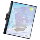 ReportPro SlideGrip Report Cover, Letter, 30-Sheet Capacity, Black CRD2203BLA