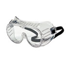 Safety Goggles, Over Glasses, Clear Lens CRW2220
