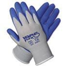 Memphis Flex Seamless Nylon Knit Gloves, Extra Large, Blue/Gray, Pair CRW96731XL
