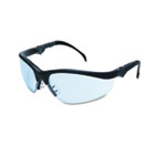 Klondike Plus Safety Glasses, Black Frame, Light Blue Lens CRWKD313