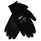 Ninja HPT PVC coated Nylon Gloves, Medium, Black, Pair CRWN9699M