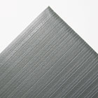 Ribbed Anti-Fatigue Mat, Vinyl, 36 x 60, Gray CWNFL3660GY