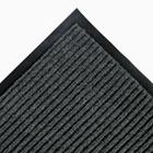 Needle Rib Wipe & Scrape Mat, Polypropylene, 48 x 72, Gray CWNNR0046GY