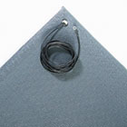 Antistatic Comfort-King Mat, Sponge, 24 x 60, Steel Gray CWNZC0025GY